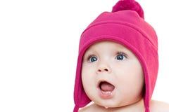 удивленный младенец Стоковая Фотография