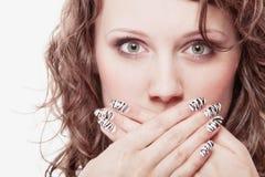 Женщина в рот девушке