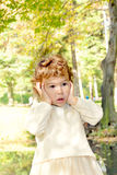 удивленный ребенок Стоковое фото RF