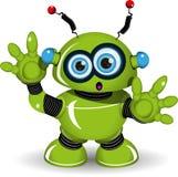 Удивленный робот Стоковое Фото