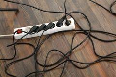 Удлинительный кабель Стоковая Фотография