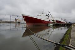 удить корабли стоковая фотография rf