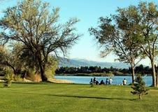 Удить Реку Снейк, Burley Айдахо Стоковая Фотография RF