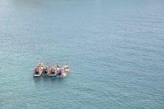 удить шлюпок залива Стоковые Фото