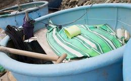 удить шлюпок пляжа Вьетнам Стоковые Фотографии RF