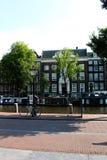 Улица Амстердама, Голландии, Амстердама Стоковые Изображения