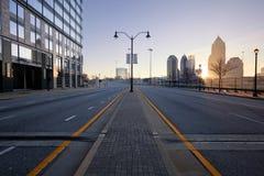 Улица Атланты стоковые изображения rf