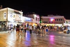 Улица бара Bodrum Стоковые Фото