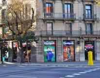 Улица Барселоны Стоковое фото RF