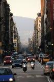 Улица 2 Барселоны Стоковое Изображение