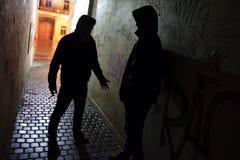 Улица боя Стоковые Фотографии RF
