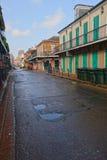 Улица Бурбона, Новый Орлеан Стоковые Изображения