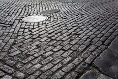 Улица булыжника Стоковое Фото