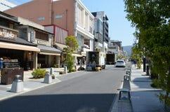 Улица бульвара sanjo-dori Стоковая Фотография RF