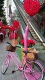 Улица валентинки Стоковая Фотография