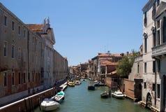 Улица, Венеция Италия Стоковые Изображения RF
