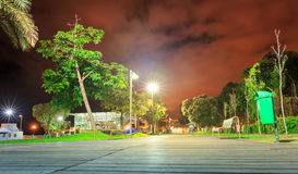 Улица вечера Стоковые Фотографии RF