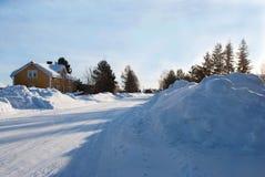 Ландшафт снежка Стоковые Фотографии RF