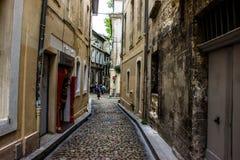 Улица в Авиньоне Стоковая Фотография