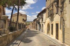 Улица в Авила, Испании Стоковое Изображение