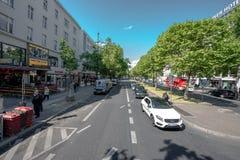 Улица в Берлине Стоковое Фото