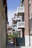 Улица в Венеции Стоковые Изображения