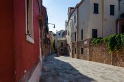 Улица в Венеции Стоковые Изображения RF