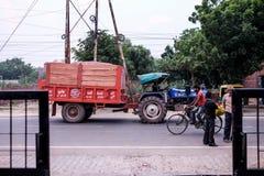 Улица в Индии Стоковое Фото