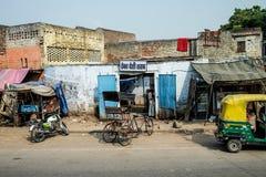 Улица в Индии Стоковые Фотографии RF