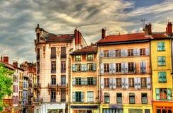 Улица в историческом центре Le Puy-en-Velay Стоковое Изображение RF
