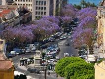 Улица в Кальяри стоковое изображение rf