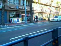 Улица в Корее Стоковая Фотография RF