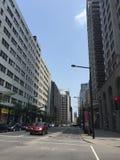 Улица в Монреале Стоковое Изображение