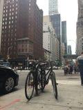 Улица в Нью-Йорке Стоковые Изображения