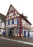 Улица в плохом Vilbel Германия стоковое изображение rf