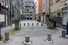 Улица в районе диаманта Стоковая Фотография RF