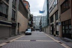 Улица в районе диаманта Стоковое Изображение RF