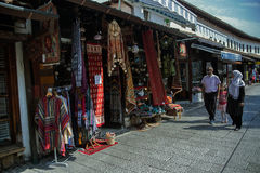 Улица в Сараеве, ija ¡ arÅ  ¡ Ä BaÅ Стоковая Фотография