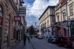 Улица в Сараев Стоковое Изображение