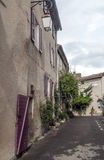 Улица в Франции Стоковая Фотография