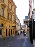 Улица в Хорватии Стоковое фото RF