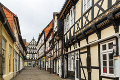 Улица в Celle, Германии Стоковое фото RF