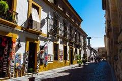 Улица в Cordoba, Испании Стоковые Фото