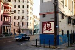 Улица Гаваны Кубы Стоковая Фотография