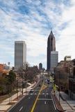 Улица города Атланты Стоковое Изображение
