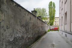 улица города пустая внутренняя стоковое фото rf