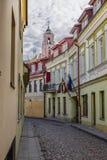 улица города старая стоковые изображения rf