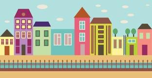 Улица города бесплатная иллюстрация