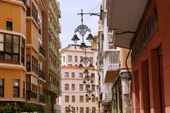 Улица городка Cartagena старая Стоковая Фотография