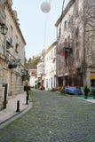 Улица городка Herceg-Novi старого Стоковые Изображения